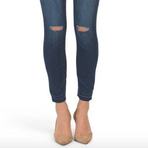 William Rast Distressed Ankle Skinny Jeans